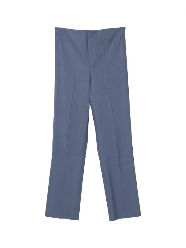 FLORENTINA PANTS; GREY BLUE PANTS; BY MALENE BIRGER