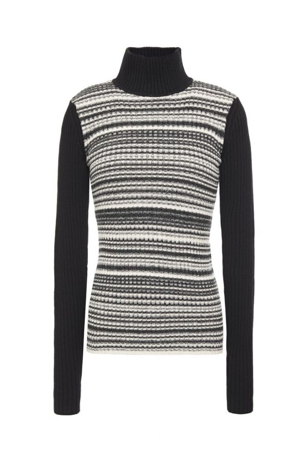 CAMILLE TURTLENECK; KNITTED TURTLENECK; BAUM UND PFERDGARTEN