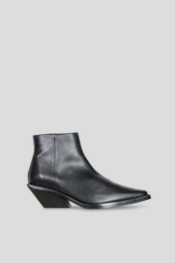 VITA BOOTS; BLACK MODERN BOOTS WITH EDGED HEEL; ANOTHER PROJECT