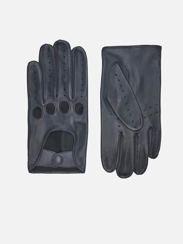 FREDERIK GLOVES; STRONG AND SOFT GLOVES IN GRAY; RHANDERS