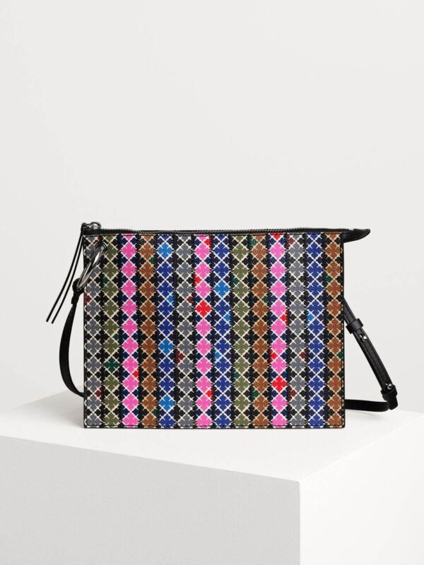 MABLE MINI PURSE BY MALENE BIRGER PATCHWORK CROSSBODY BAG