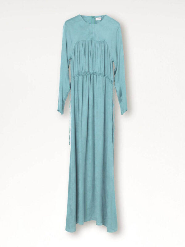 AGAVE DRESS; LONG MINT DRESS; BY MALENE BIRGER