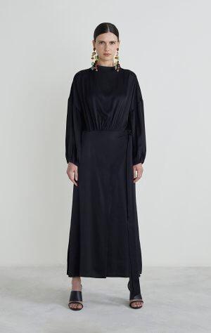 INDIO DRESS; BLACK; RODEBJER