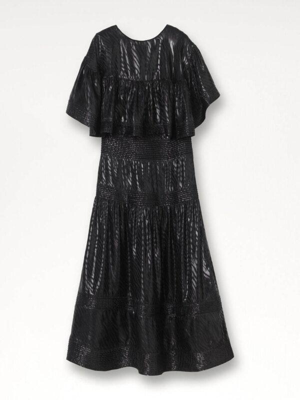 MOULINS DRESS; MAXI COLUMN DRESS; BY MALENE BIRGER