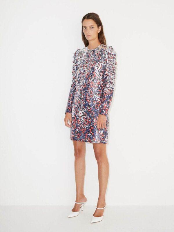 OROYA DRESS; SEQUINS DRESS; BY MALENE BIRGER