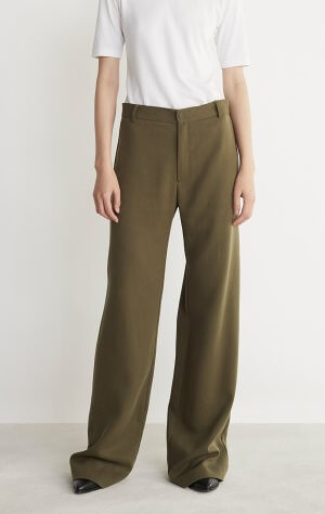 PEACE PANTS, OLIVE, RODEBJER