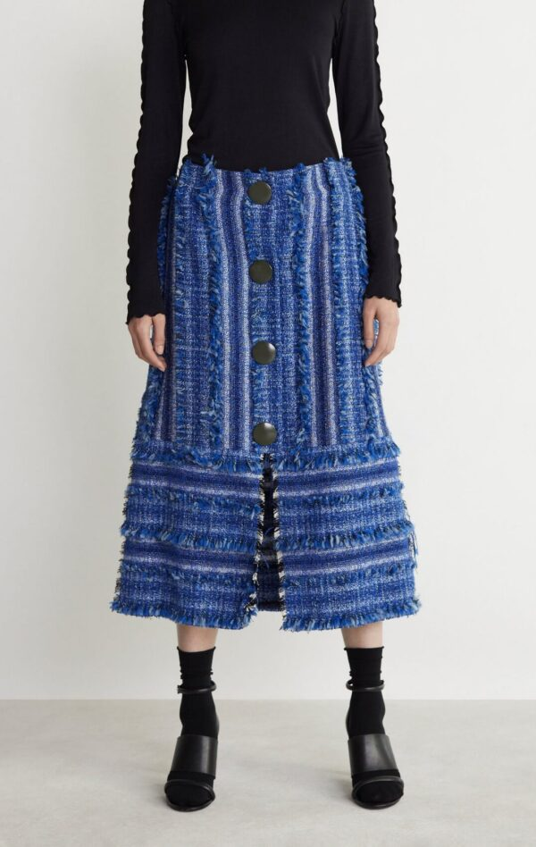 LAKE STRAIGHT CUT SKIRT; RODEBJER